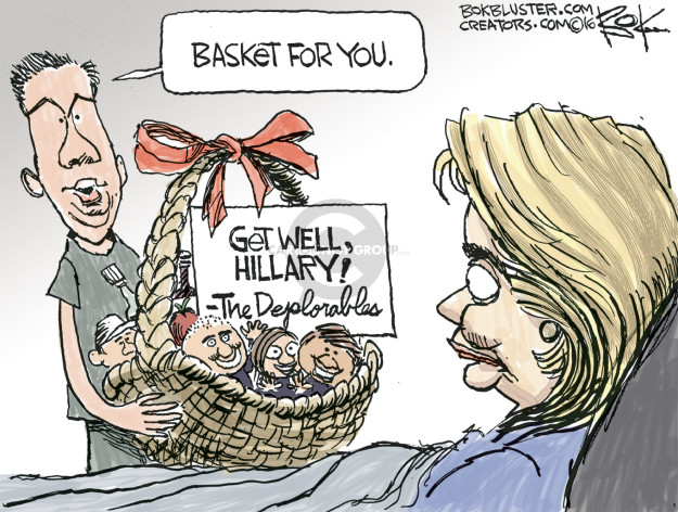Chip Bok  Chip Bok's Editorial Cartoons 2016-09-12 pneumonia