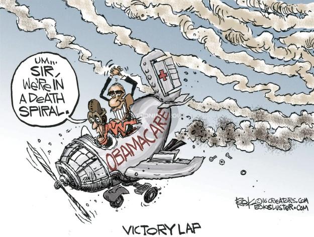 Cartoonist Chip Bok  Chip Bok's Editorial Cartoons 2016-10-25 Barack Obama