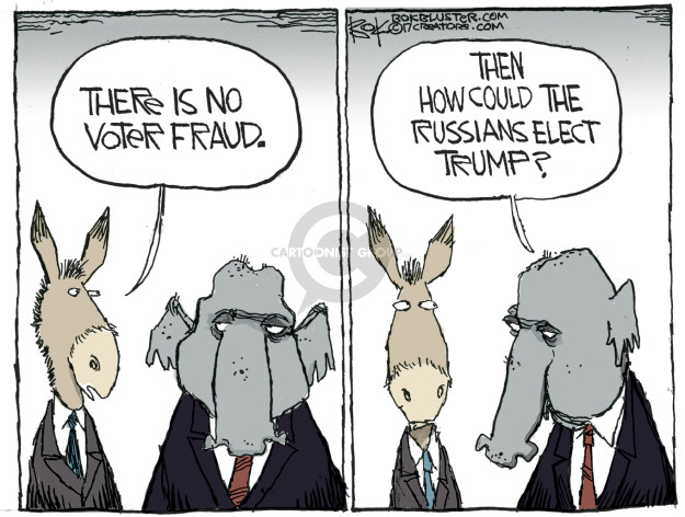 Cartoonist Chip Bok  Chip Bok's Editorial Cartoons 2017-02-21 Donald Trump Republicans