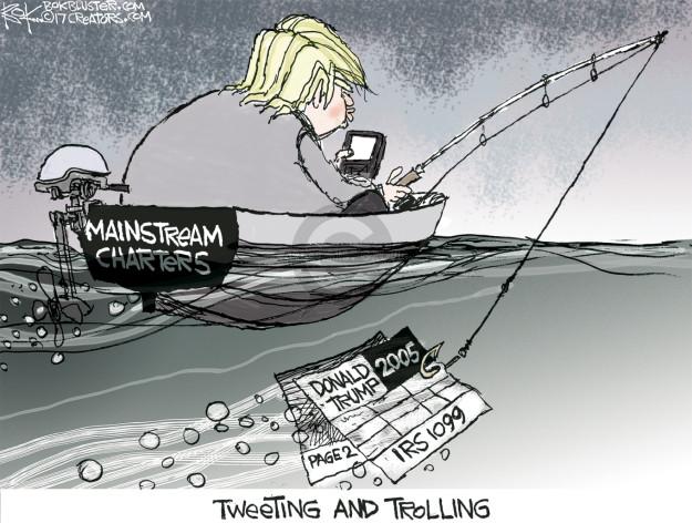 Chip Bok  Chip Bok's Editorial Cartoons 2017-03-15 Presidency