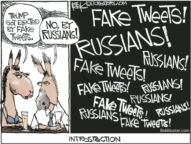 Cartoonist Chip Bok  Chip Bok's Editorial Cartoons 2017-03-20 fake news