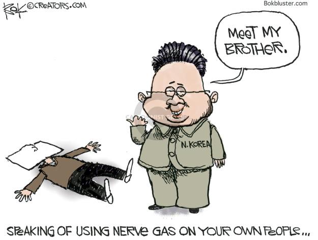 Cartoonist Chip Bok  Chip Bok's Editorial Cartoons 2017-04-08 United Nations