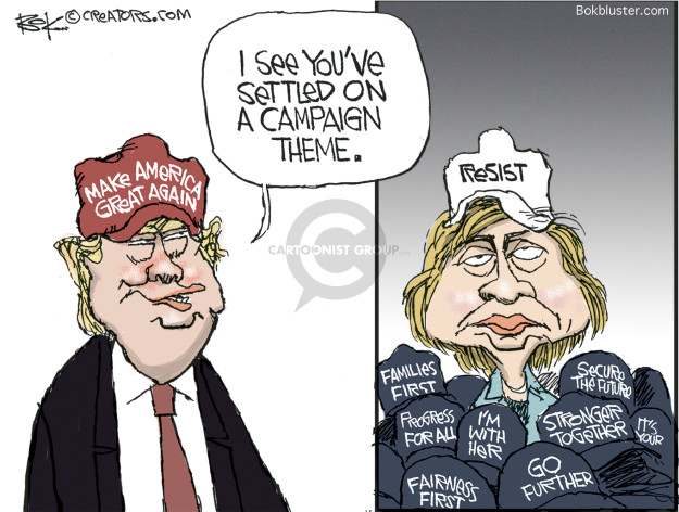 Chip Bok  Chip Bok's Editorial Cartoons 2017-04-22 Presidency