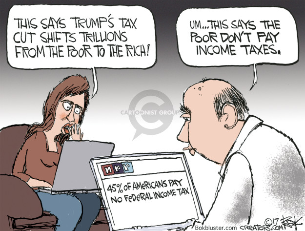 Cartoonist Chip Bok  Chip Bok's Editorial Cartoons 2017-05-08 taxpayer