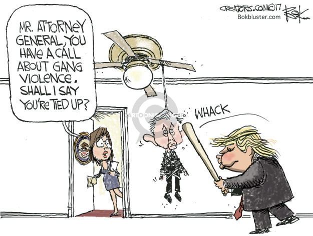 Cartoonist Chip Bok  Chip Bok's Editorial Cartoons 2017-08-01 attack