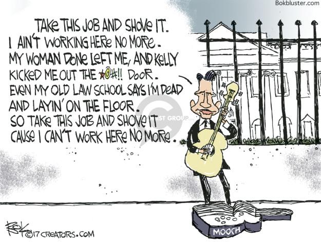 Chip Bok  Chip Bok's Editorial Cartoons 2008-02-17 John Kelly
