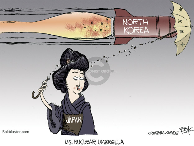North Korea. Japan. U.S. Nuclear Umbrella.