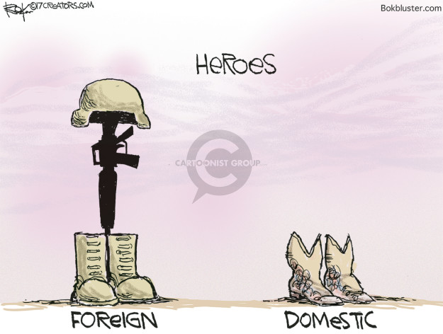 Heroes. Foreign. Domestic.
