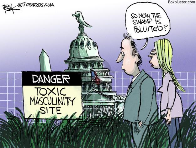 Cartoonist Chip Bok  Chip Bok's Editorial Cartoons 2017-11-14 congressional