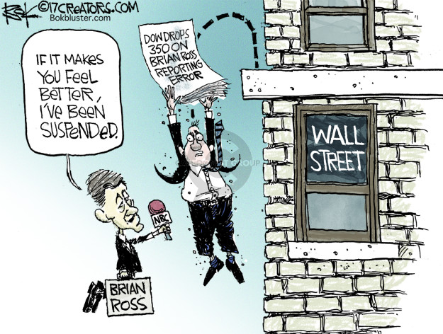 Chip Bok  Chip Bok's Editorial Cartoons 2017-12-07 wall