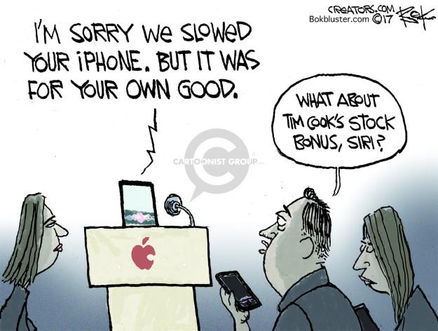 Cartoonist Chip Bok  Chip Bok's Editorial Cartoons 2017-12-30 phone