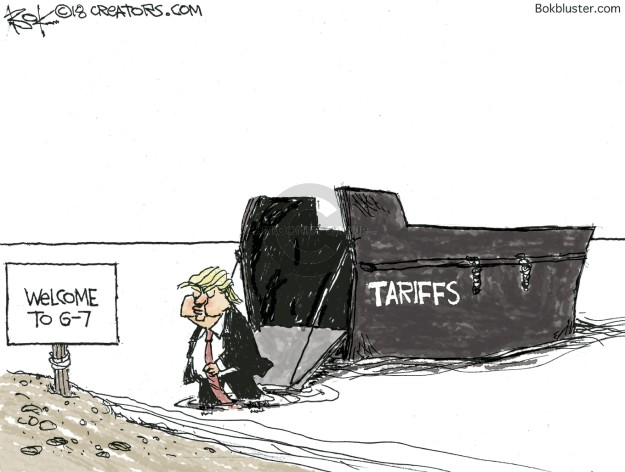 Welcome to G-7. Tariffs.