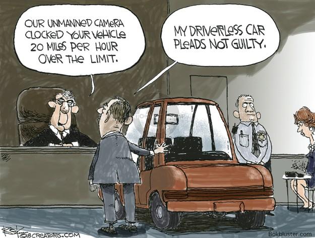 Cartoonist Chip Bok  Chip Bok's Editorial Cartoons 2018-11-24 car driver