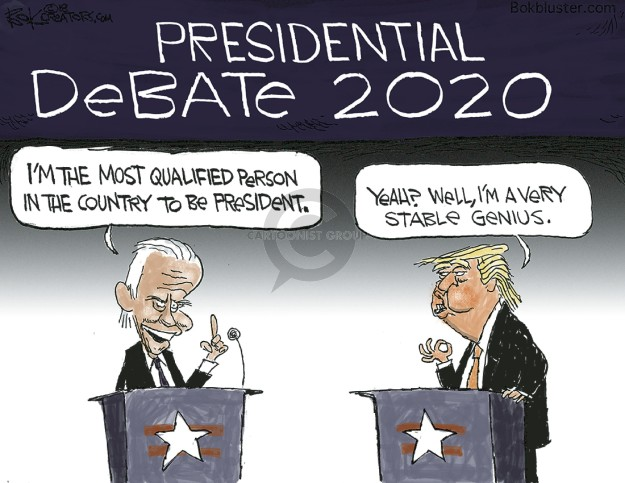 Chip Bok  Chip Bok's Editorial Cartoons 2018-12-12 election debate