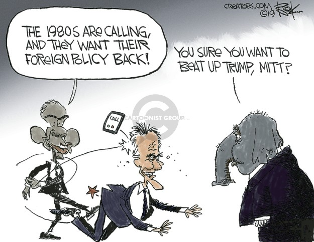 Chip Bok  Chip Bok's Editorial Cartoons 2019-01-03 Barack Obama
