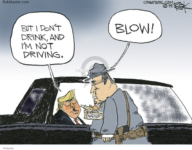 Cartoonist Chip Bok  Chip Bok's Editorial Cartoons 2019-03-06 Donald