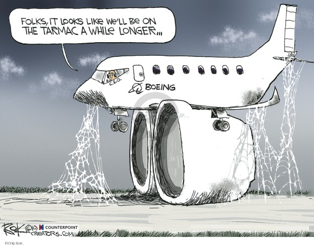 Cartoonist Chip Bok  Chip Bok's Editorial Cartoons 2019-12-20 travel safety
