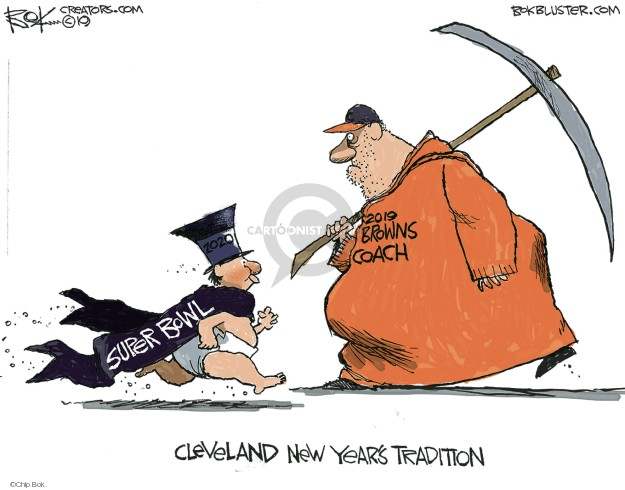 Chip Bok  Chip Bok's Editorial Cartoons 2020-12-31 baby new year