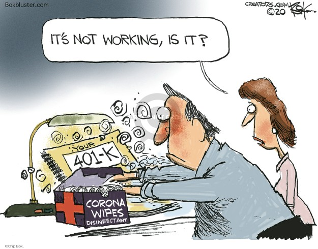 Cartoonist Chip Bok  Chip Bok's Editorial Cartoons 2020-02-28 stock