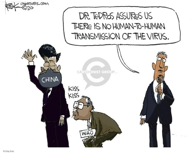 Chip Bok  Chip Bok's Editorial Cartoons 2020-04-10 editorial