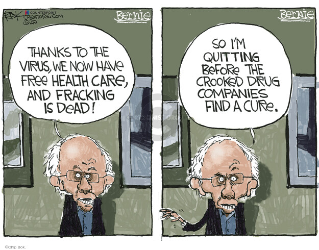 Chip Bok  Chip Bok's Editorial Cartoons 2020-04-17 health care