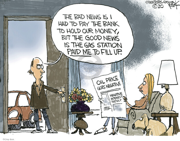 Chip Bok  Chip Bok's Editorial Cartoons 2020-04-21 recession
