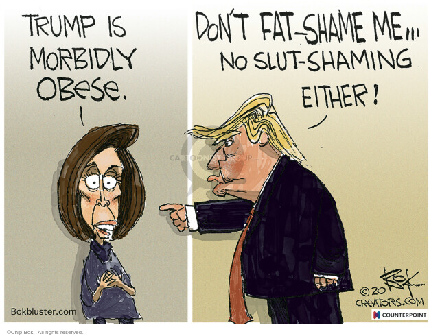 Chip Bok  Chip Bok's Editorial Cartoons 2020-05-28 political leader