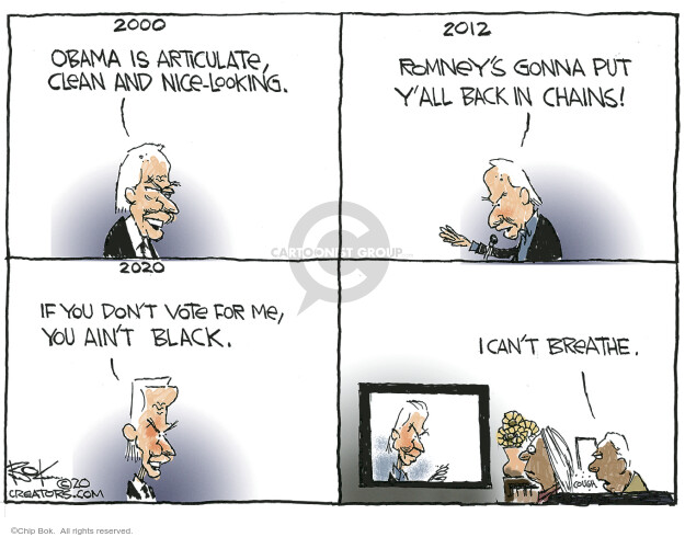 Chip Bok  Chip Bok's Editorial Cartoons 2020-06-04 Barack Obama