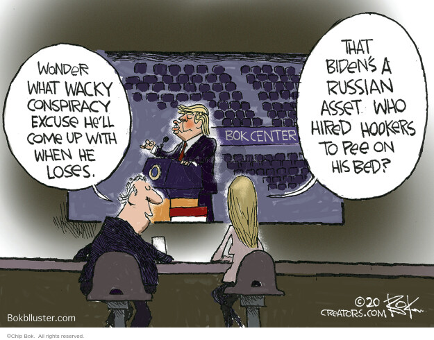 Chip Bok  Chip Bok's Editorial Cartoons 2020-06-22 Donald