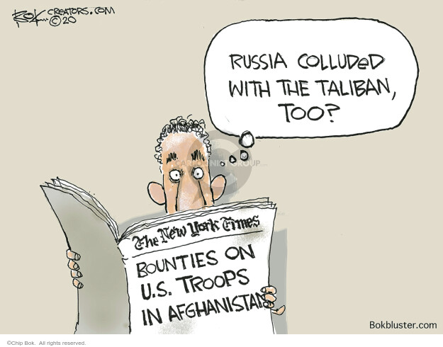 Chip Bok  Chip Bok's Editorial Cartoons 2020-07-02 Russia