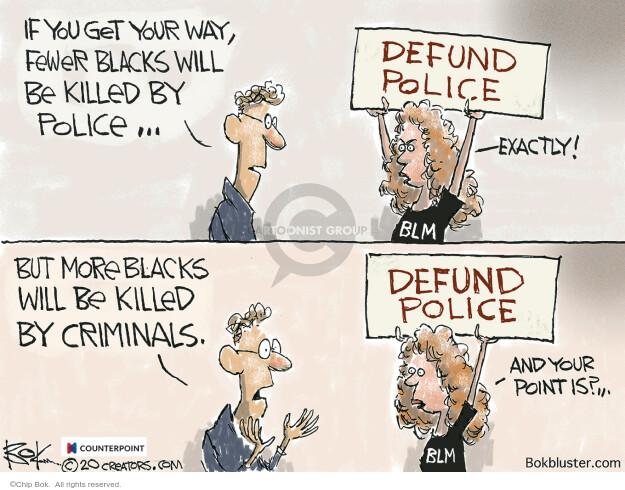 Chip Bok  Chip Bok's Editorial Cartoons 2020-07-03 Black Lives Matter