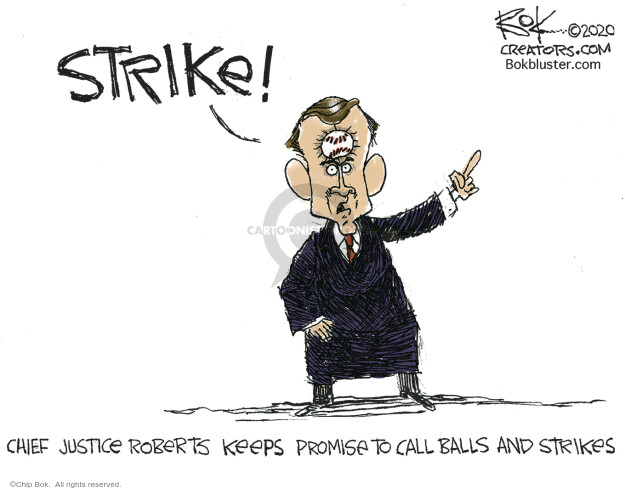 Chip Bok  Chip Bok's Editorial Cartoons 2020-07-08 justice
