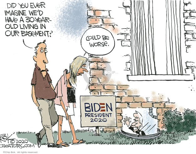 Chip Bok  Chip Bok's Editorial Cartoons 2020-07-17 chip