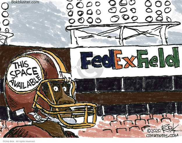 Chip Bok  Chip Bok's Editorial Cartoons 2020-07-18 sport