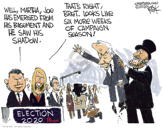 Chip Bok  Chip Bok's Editorial Cartoons 2020-09-23 candidate