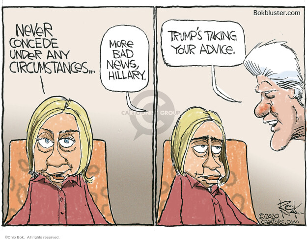Chip Bok  Chip Bok's Editorial Cartoons 2020-09-26 Hillary