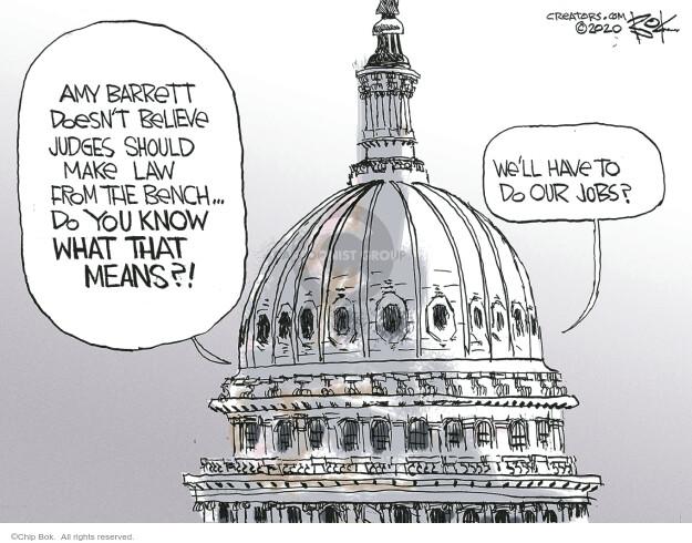 Chip Bok  Chip Bok's Editorial Cartoons 2020-09-28 politics