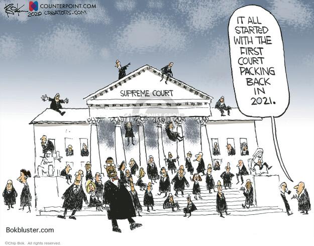 Chip Bok  Chip Bok's Editorial Cartoons 2020-10-24 justice