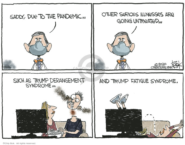 Chip Bok  Chip Bok's Editorial Cartoons 2020-10-29 Chip Bok