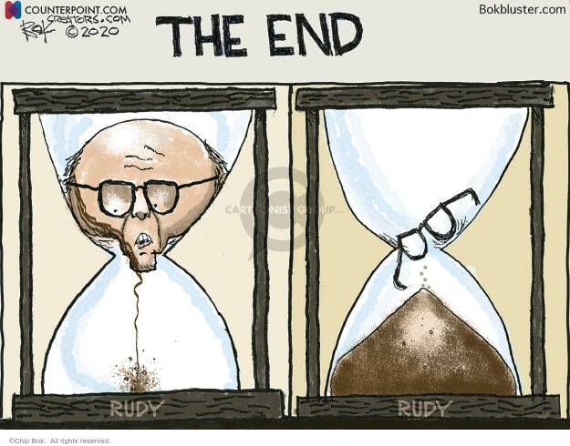 Chip Bok  Chip Bok's Editorial Cartoons 2020-11-24 chip
