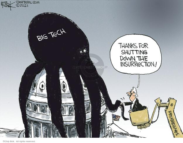 Chip Bok  Chip Bok's Editorial Cartoons 2021-01-12 progressive