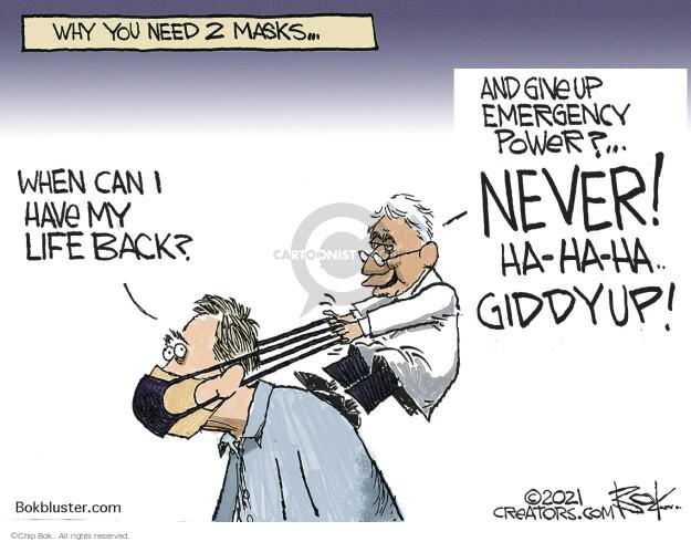 Chip Bok  Chip Bok's Editorial Cartoons 2021-02-25 Chip Bok