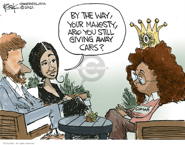 Chip Bok  Chip Bok's Editorial Cartoons 2021-03-08 car