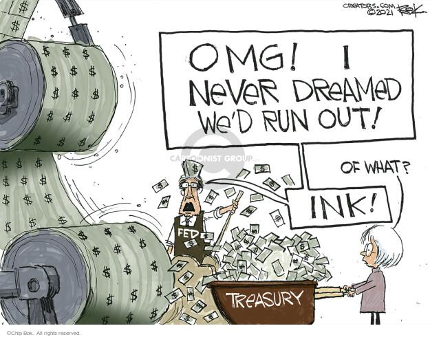 Chip Bok  Chip Bok's Editorial Cartoons 2021-03-25 federal