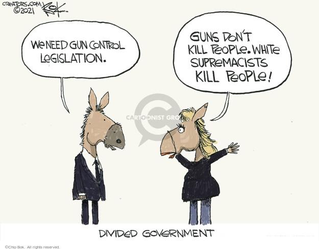 Chip Bok  Chip Bok's Editorial Cartoons 2021-03-27 gun rights