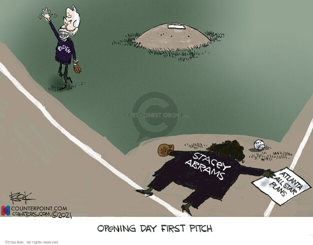 Chip Bok  Chip Bok's Editorial Cartoons 2021-04-06 voter