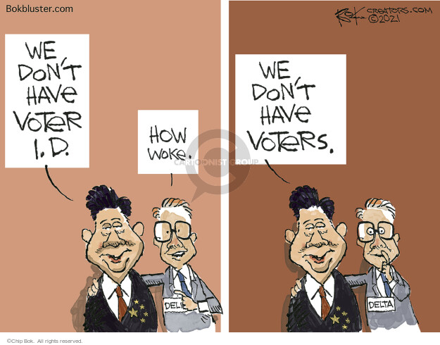 Chip Bok  Chip Bok's Editorial Cartoons 2021-04-09 election