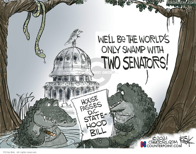 Chip Bok  Chip Bok's Editorial Cartoons 2021-04-24 Congress