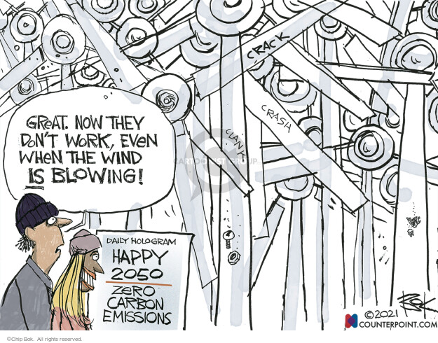 Chip Bok  Chip Bok's Editorial Cartoons 2021-04-27 climate change