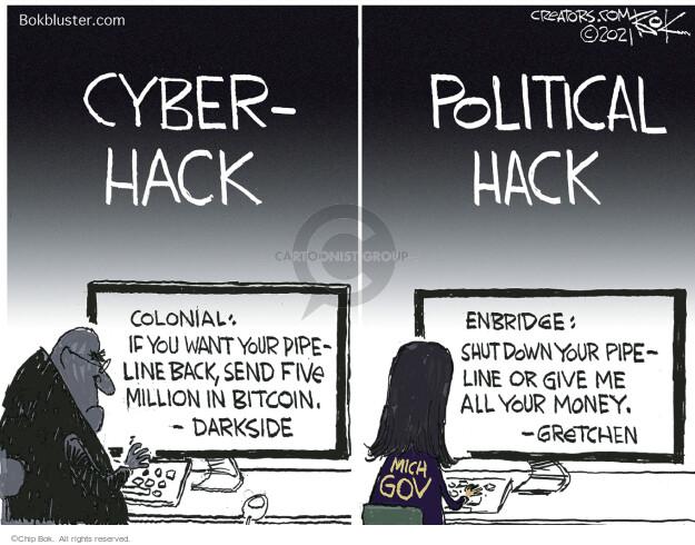 Chip Bok  Chip Bok's Editorial Cartoons 2021-05-21 security